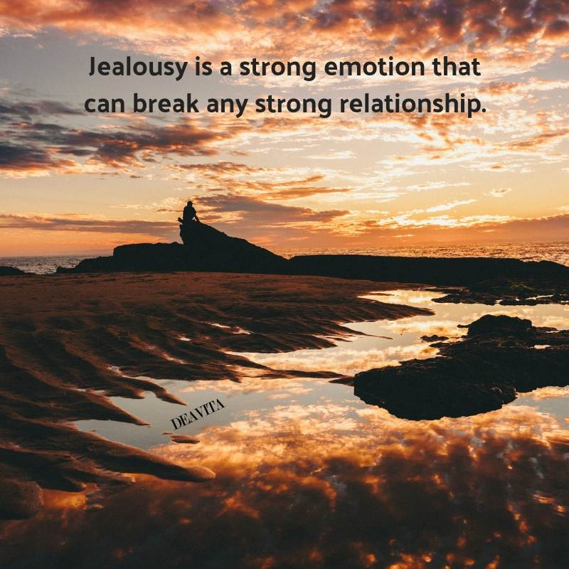 Jealousy and relationship quotes and wise sayings