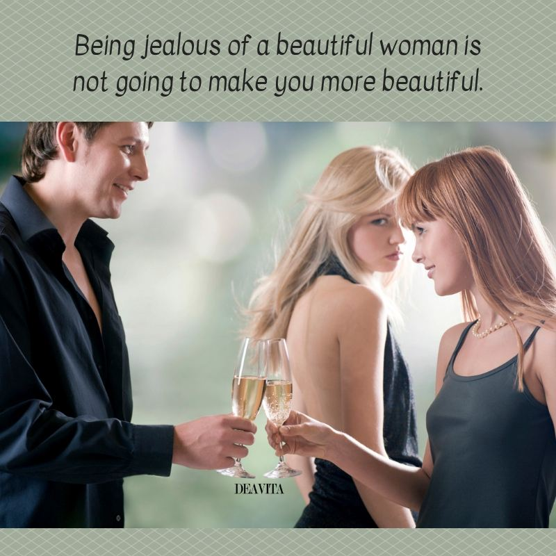 Being jealous quotes and short sayings with photos