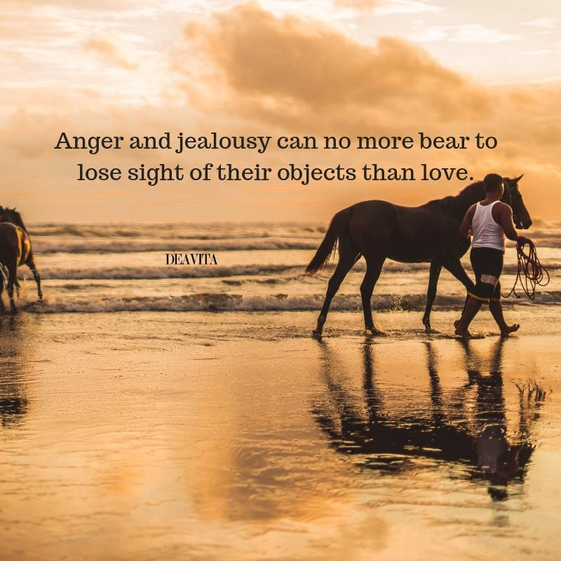 Anger and jealousy quotes and sayings with photos