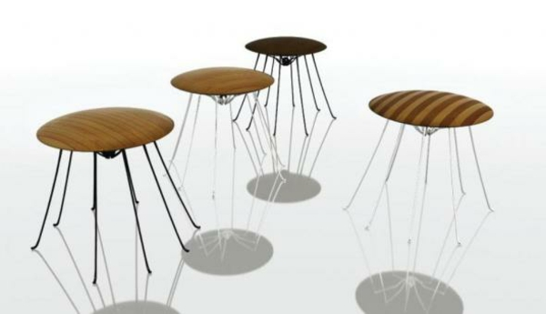 modern outdoor furniture design insect stainless steel legs