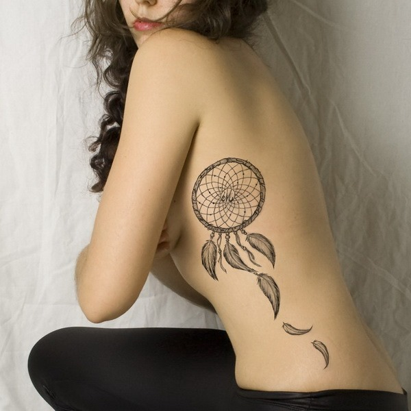 dreamcatcher tattoo meaning and design ideas for men and women