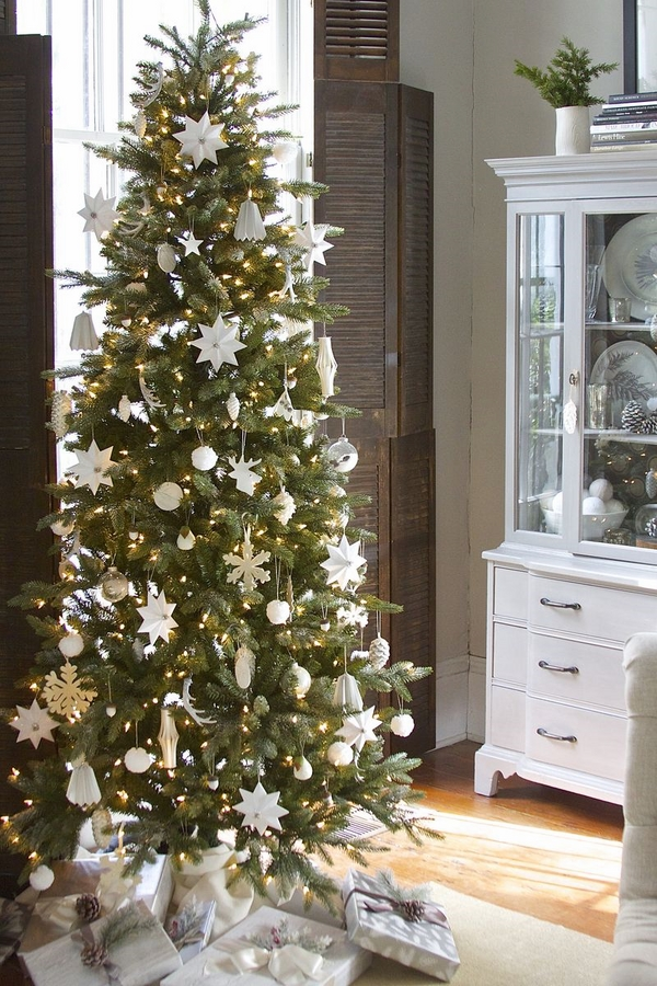 pencil-christmas-tree-ideas how to decorate