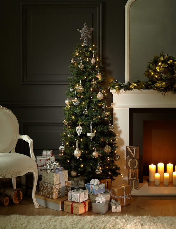 most beautiful-pencil-christmas-tree-ideas living room decoration ideas