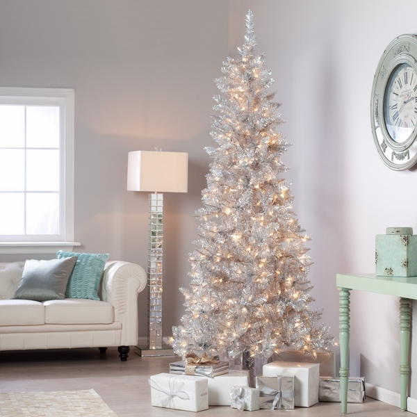 white-pencil-christmas-tree-white-christmas-decoration-ideas