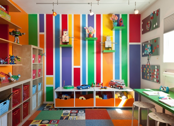 Adorable playroom ideas and useful tips for storing toys