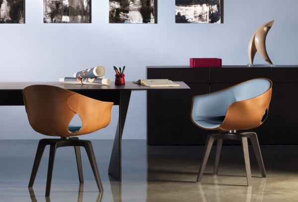 modern leather dining chairs contemporary dining room furniture
