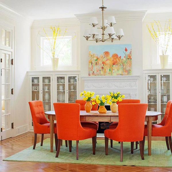 dideas fresh colors upholstered chairs