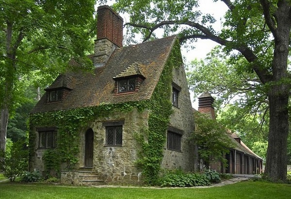 traditional english style house