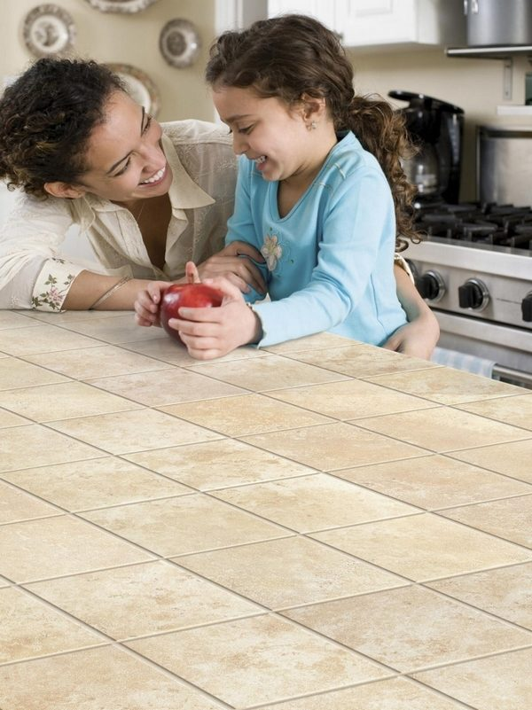 advantages and disadvantages of ceramic tile countertops