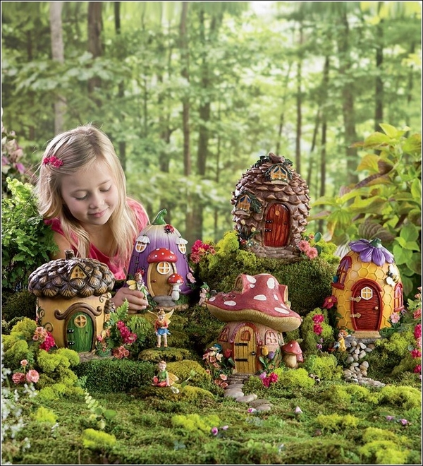 mini gardens miniature fairy houses fairy garden ideas