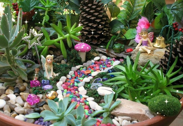 mini fairy garden plants accessories