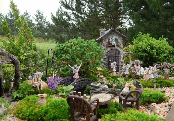 creative garden decoration ideas fairy house