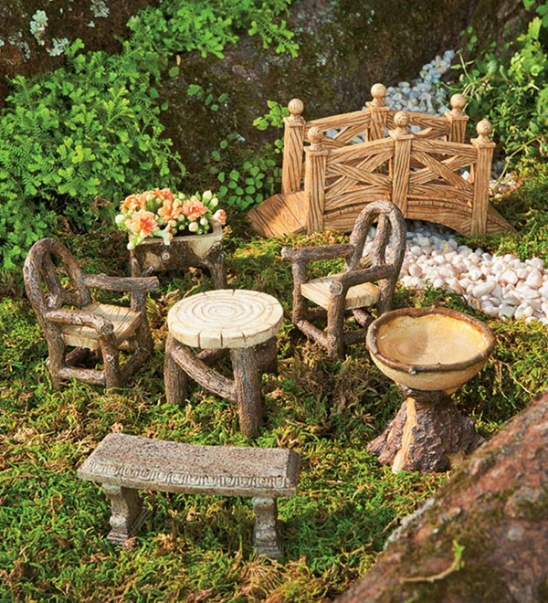 fairy mini garden design mini garden furniture