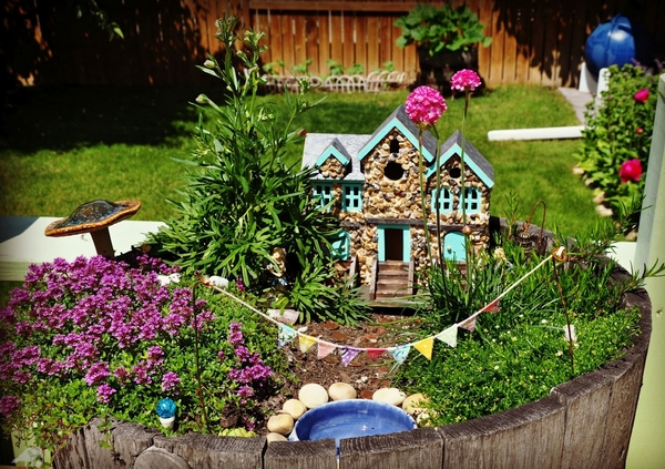 fairy ideas mini garden design miniature house pond