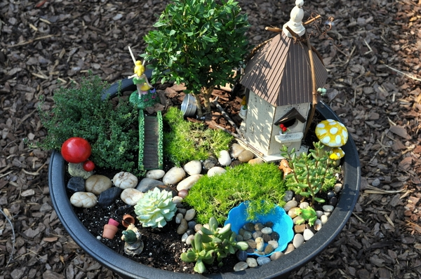 DIY fairy gardens ideas mini garden design