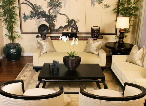 modern Feng Shui living room designs interior decorating ideas plants