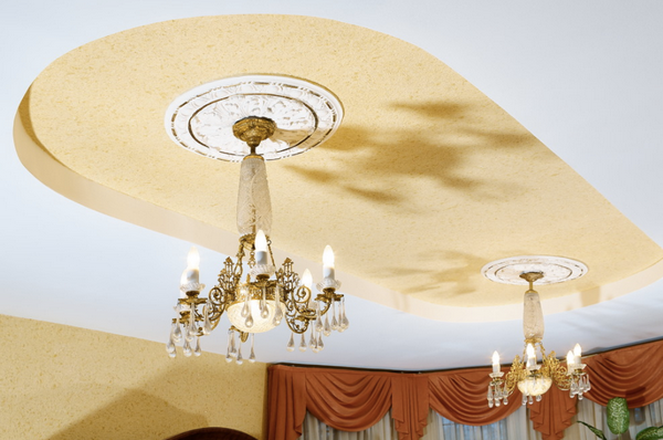 ceiling design and decorating ideas tray ceiling crystal chandeliers