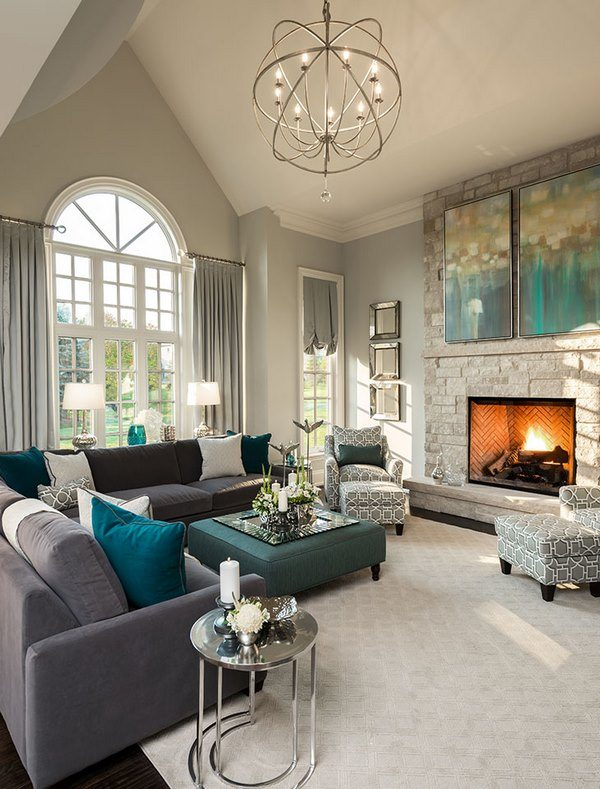 formal living room furniture ideas with sofa coffee table fireplace