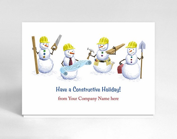 cool business christmas cards
