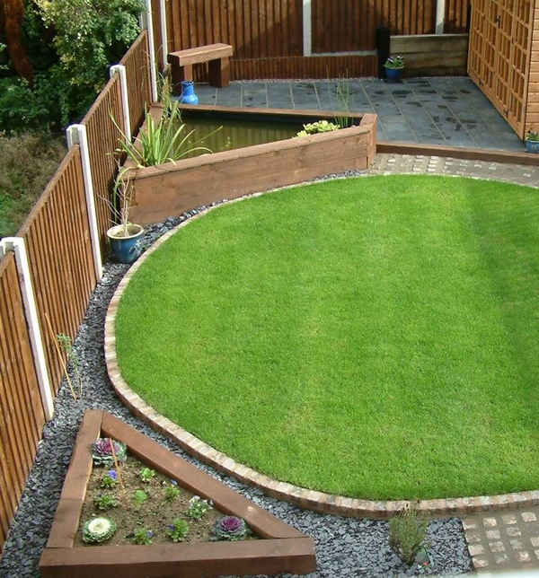 landscaping with railway sleepers small garden design ideas