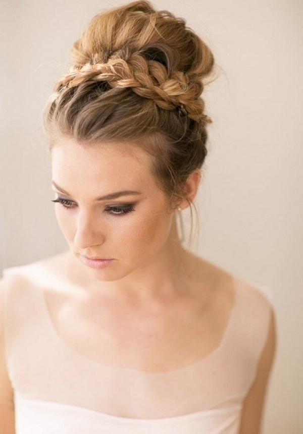 formal updos for thin hair with braids