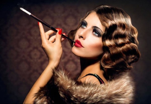 great gatsby hairstyle hollywood waves