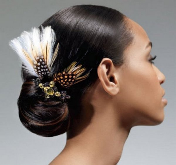 beautiful low bun prom hairstyles ideas for thin hair