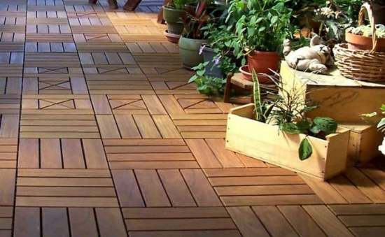 Wooden tiles design tips