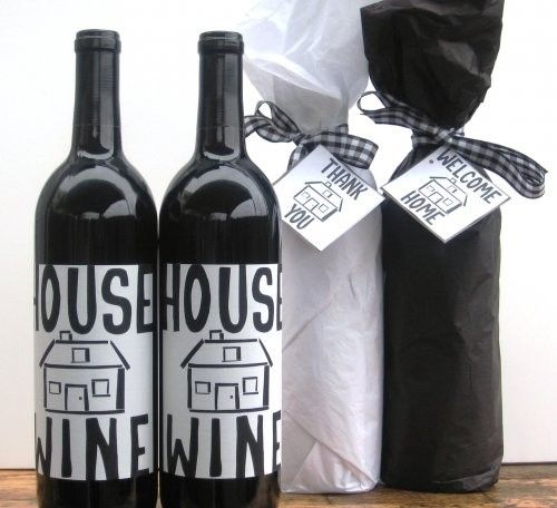DIY-housewarming-gift-ideas wine bottles