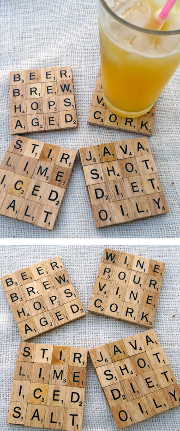 cool-housewarming-gift-ideas-scrabble-coasters