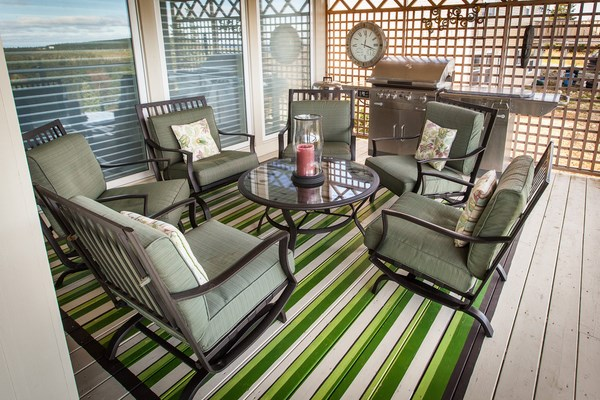 paint ideas porch painting rug striped pattern
