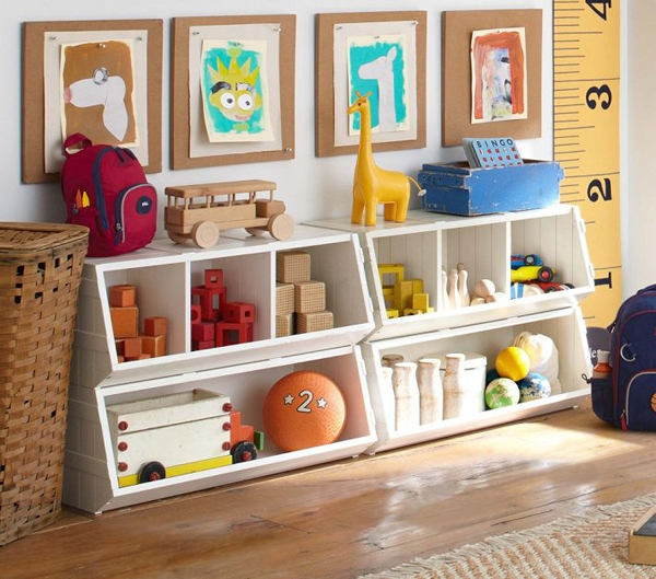 Ideas for keeping in the game room - keep the game room organized at all times