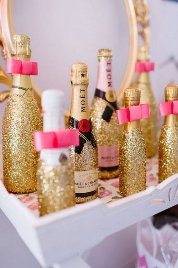 spa themed bridal shower ideas menu drinks champagne