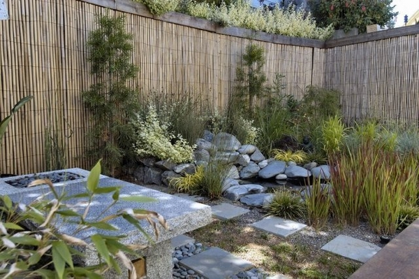 Ideas for privacy screens for the garden and patio area