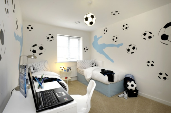 Football room design ideas teen room