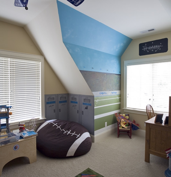 Kids furniture design ideas sport theme