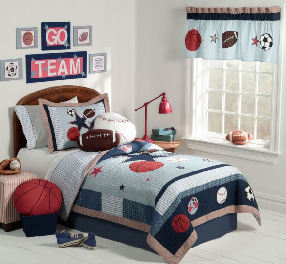 furniture Boys Room football