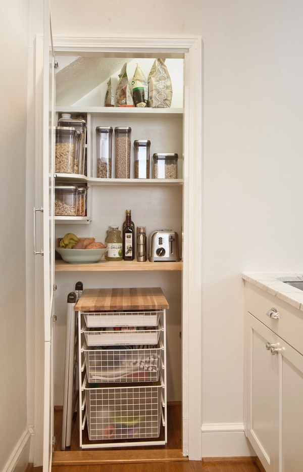 Small pantry ideas - tips and tricks for organizing