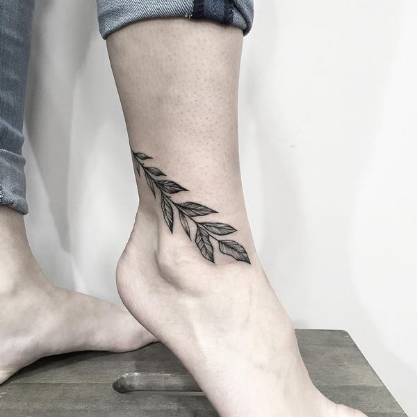 tattoo ideas for ankle womens foot ideas