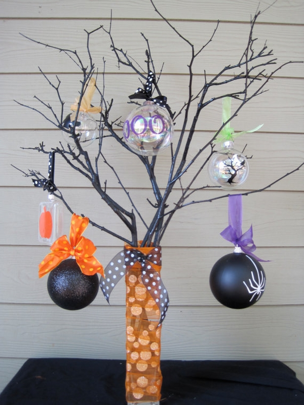 how to make DIY halloween ornaments ideas
