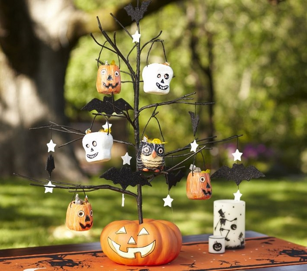 tree decoration ideas garden decoration pumpkin tree