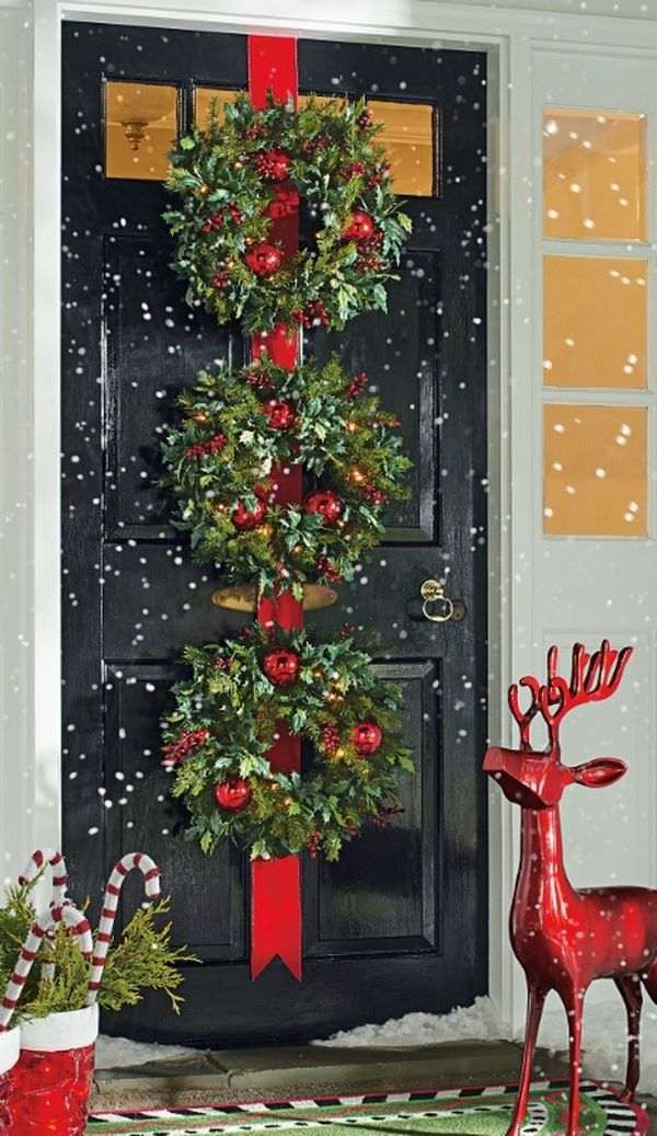 cool creative wreath hanger ideas for doors windows ceiling and walls