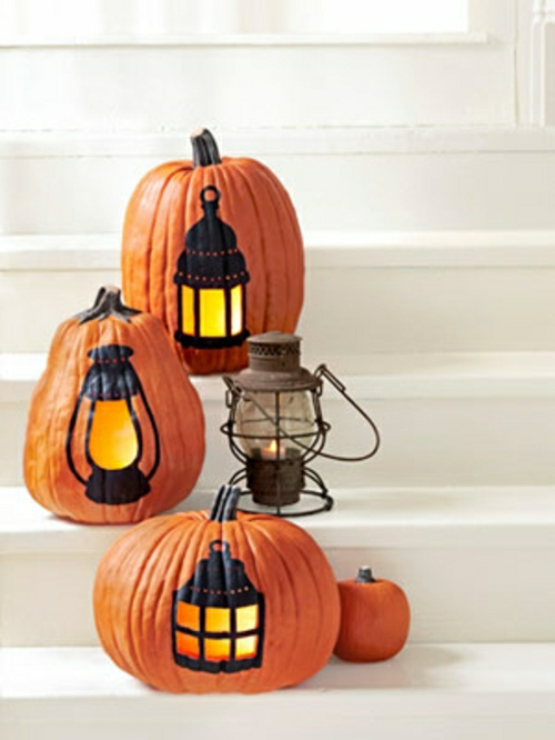 Halloween veranda decoration cute easy
