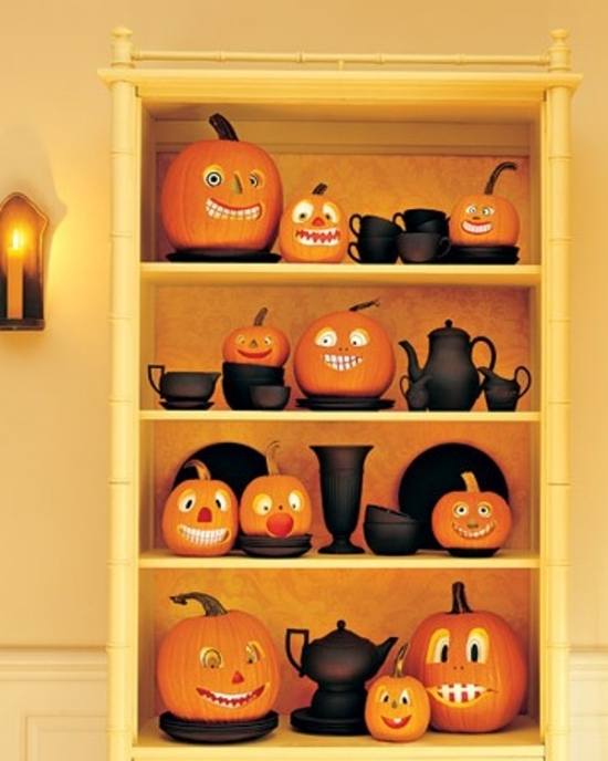 Funny pumpkin lantern ideas pumkin designs Halloween decoration