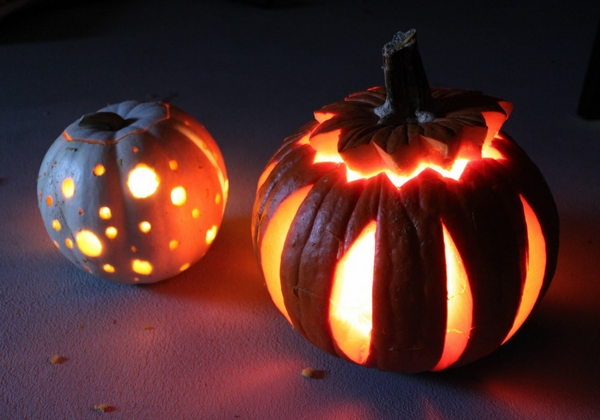 easy carving ideas Halloween decoration