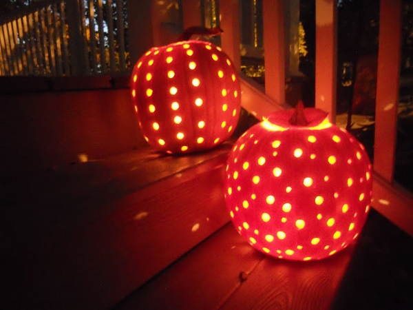 DIY designs creative Halloween decorating ideas pumpkin lanterns ideas
