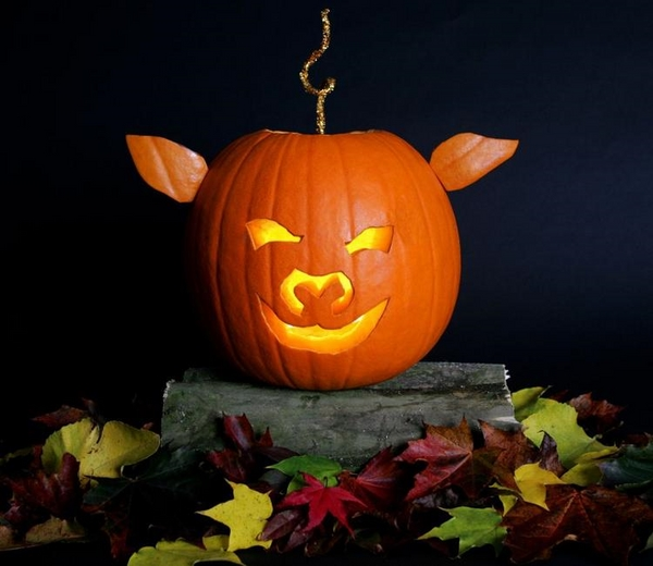 cute original pumpkin carving designs easy Halloween crafts