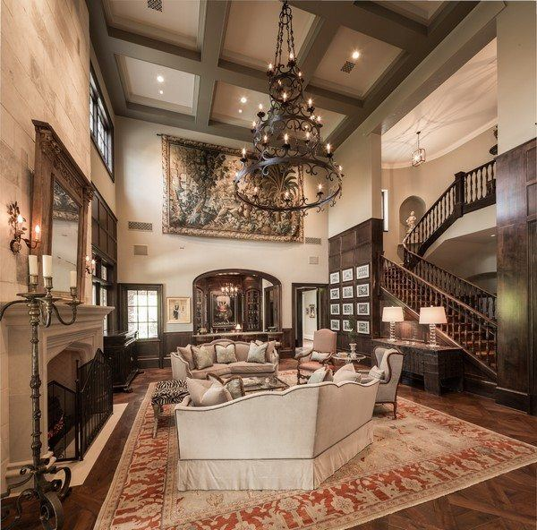 traditional home decorating ideas soft furniture fireplace
