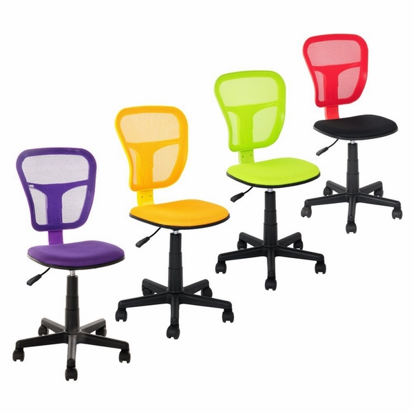 light office chairs mesh back