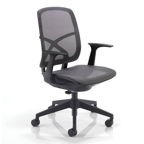 comfortable chair armrests high back